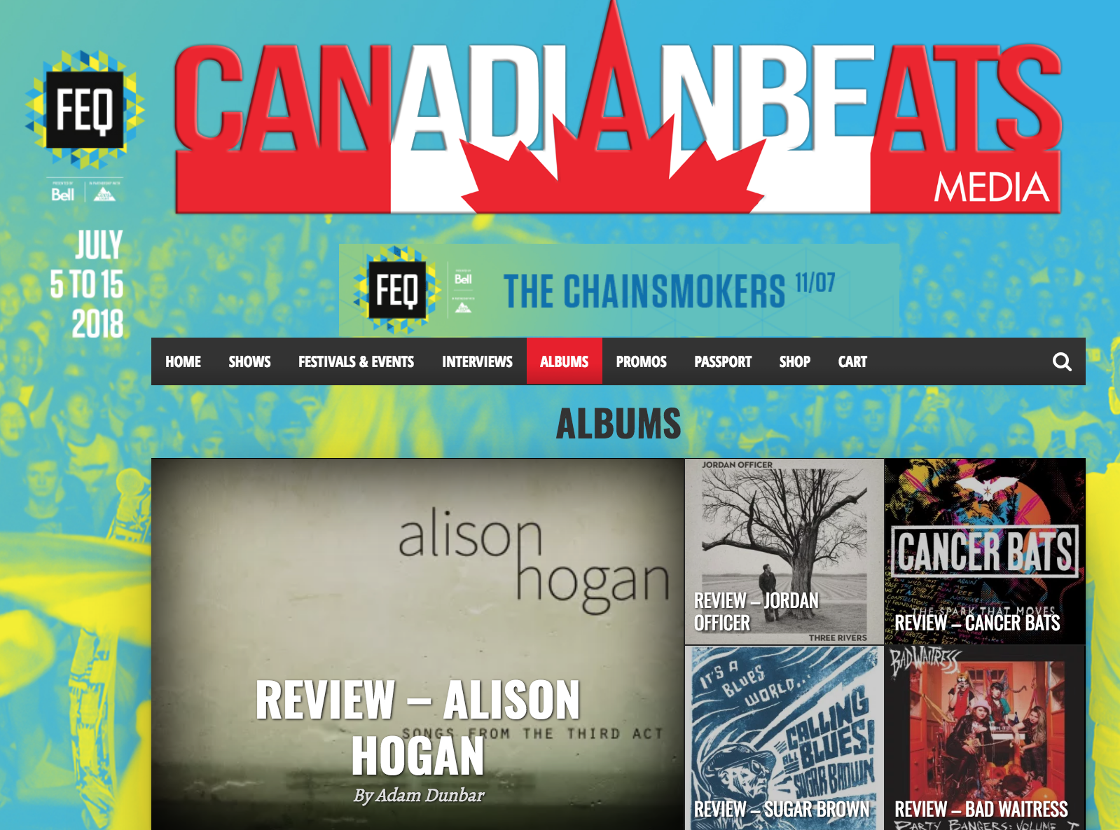 2018 04 25 Canadian Beats