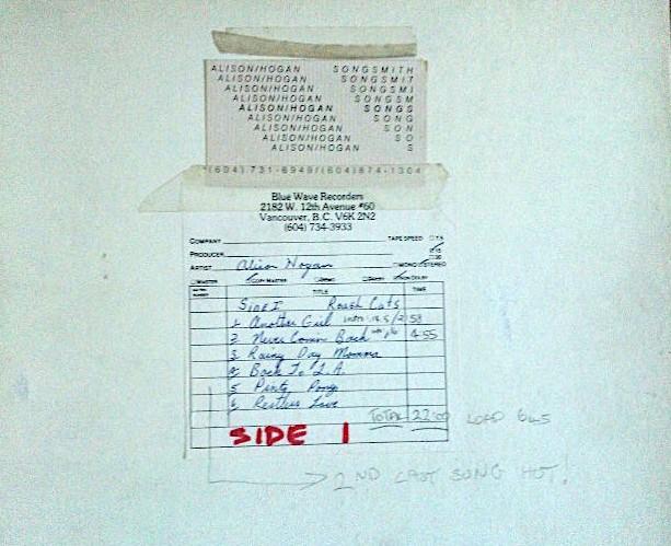 1980 ROUGH CUTS 1