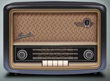 OLD RADIO GRAPHIC
