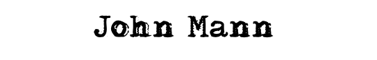 VAULT JOHN MANN